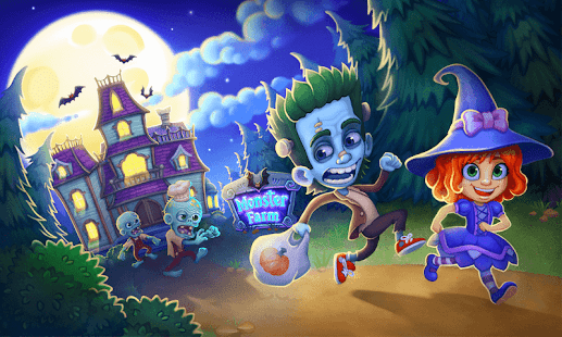 Monster Farm: Happy Ghost Village & Witch Mansion Screenshot
