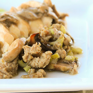 Mushroom and Sausage Stuffing Recipe