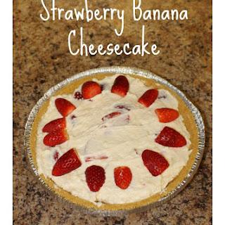 Strawberry Banana Cheesecake Recipes.