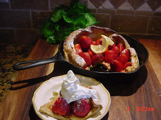 Dutch Baby With Fresh Fruit (bonnie's) Recipe