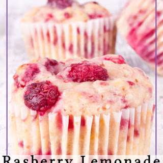 Raspberry Lemonade Muffins.