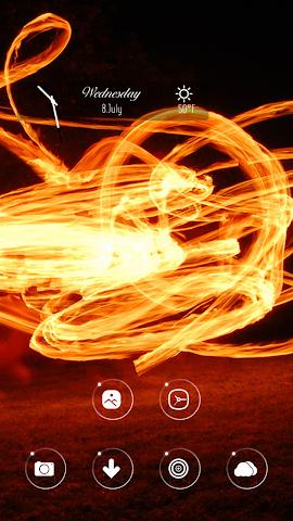 android Dancing flames Screenshot 2