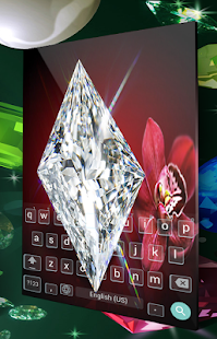 Diamond NitaGo Keyboard Themes - náhled