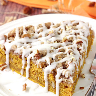 Cinnamon Streusel Pumpkin Coffee Cake