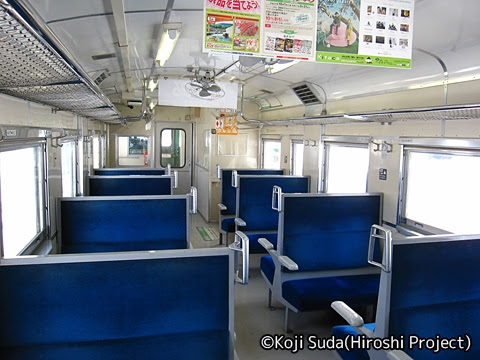 JR北海道 学園都市線 キハ40-402 車内