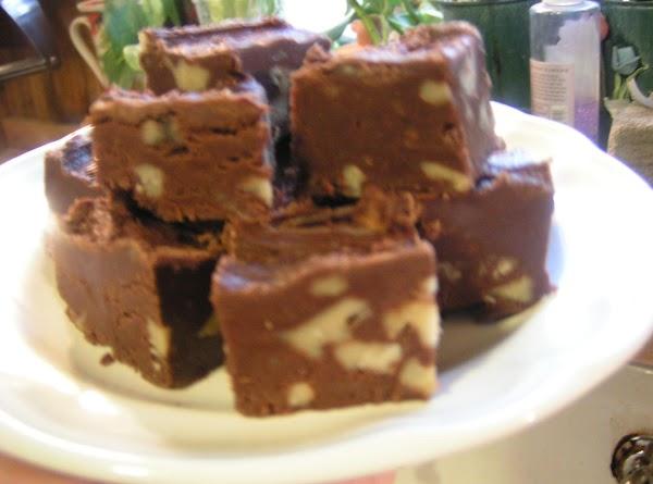 Fast Easy Wonderful Fudge - Dee Dee's Recipe