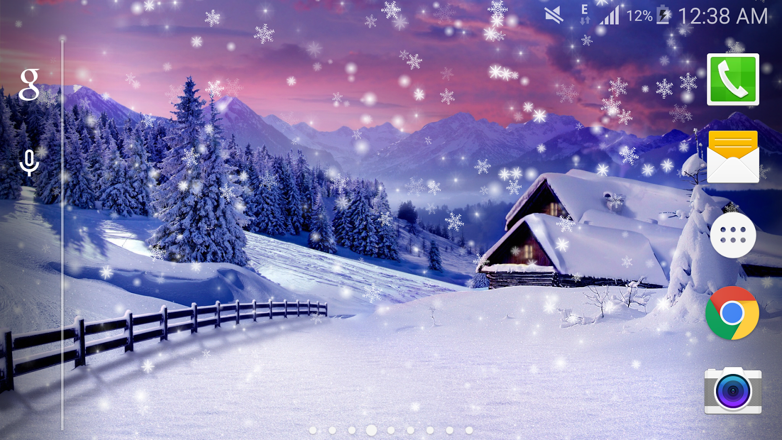 Winter snow lwp hd pro android apps auf google play