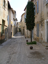Photo: Now back at ground level in the Old Town, which is as quiet as the side streets of Beaucaire.