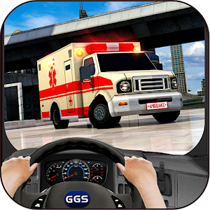 In Car Ambulance Drive for PC and MAC