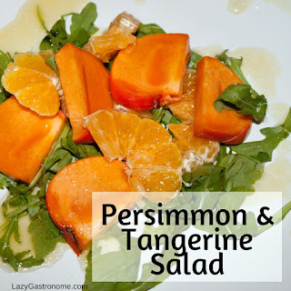 Persimmon & Tangerine Salad.