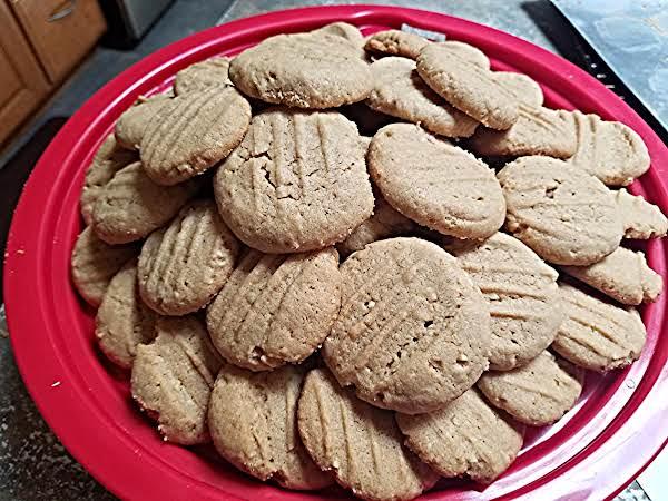 Almond- Soy Peanut Butter Cookies Recipe