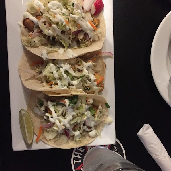 Fish taco delicious!
