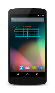 ClockChart Widget screenshot