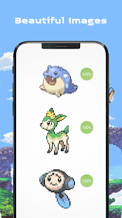 Color by Number - Pokees Screenshot