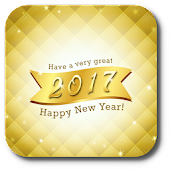 Happy New Year Wish Card 2017