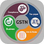 GSTN-GST Act, Rules & Rate Icon