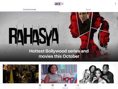 Kwese TV Screenshot