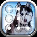 Siberian Husky Pattern Lock Screen icon