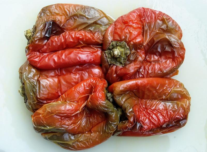 Peperoni cotti al forno di iento