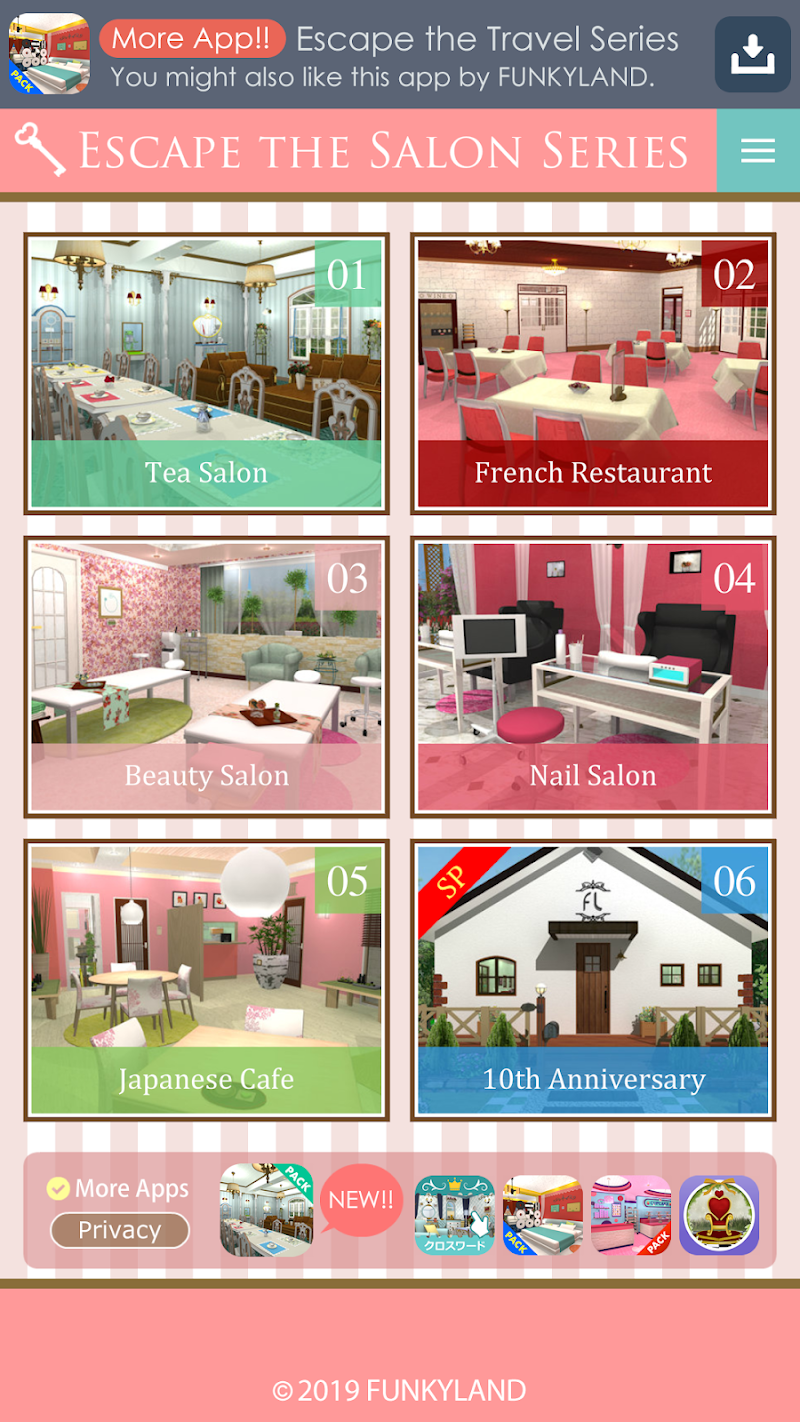 Download Escape the Salon Series Cheat APK MOD