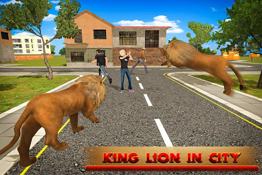 王ライオン3dの怒り