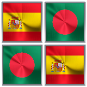 Flags Memory Game