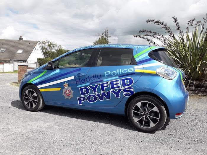 Electric car to join Newtown Police beat