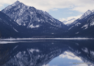 Photo: Wallowa Lake, looking south into the Eagle Cap Wilderness