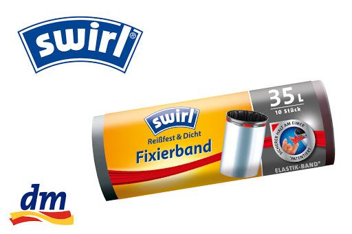 Bild für Cashback-Angebot: Swirl® Fixierband-Müllbeutel 35 l - Swirl