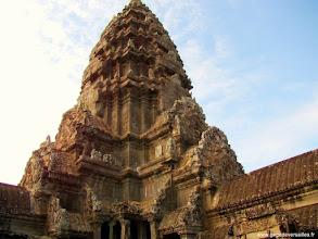 Photo: #024-Angkor Vat. Site classé au Patrimoine mondial de l'Unesco.