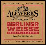 Alewerks Berliner Weisse