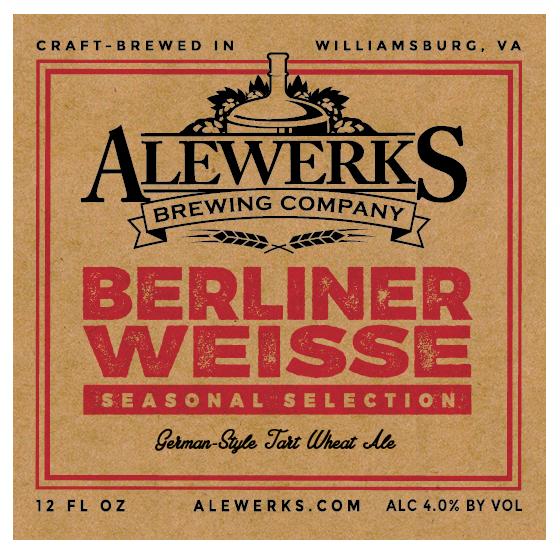 Logo of Alewerks Berliner Weisse