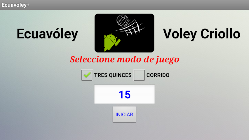 android Ecuavoley+ Screenshot 0