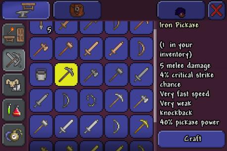 Terraria Apk Mod Itens Infinitos 3