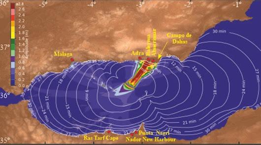 El Gobierno andaluz elabora un Plan de Contingencia frente a posibles maremotos
