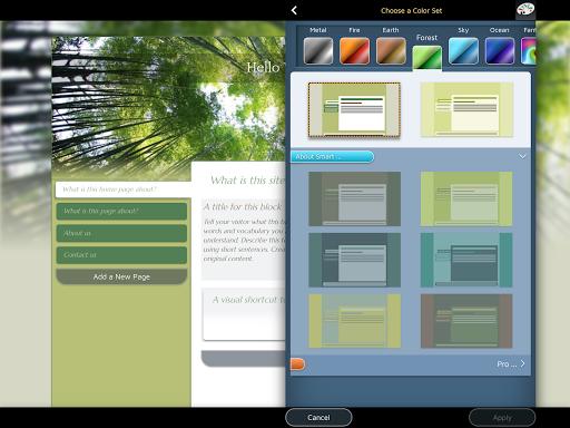Website Builder for Android screenshot 14