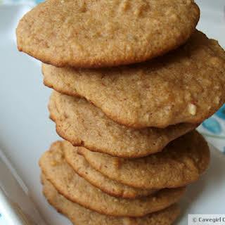 Grain-Free Almond Butter Banana Cookies.