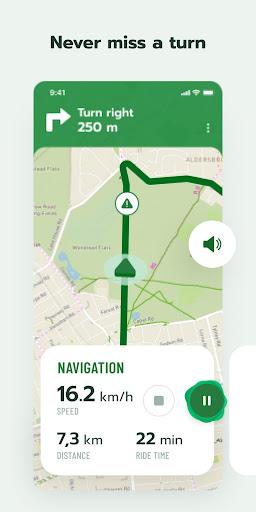 Cyclers: Bike Map, Navigation & Tracker screenshots 3