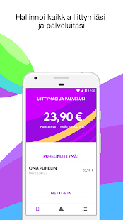 Minun Telia- screenshot thumbnail