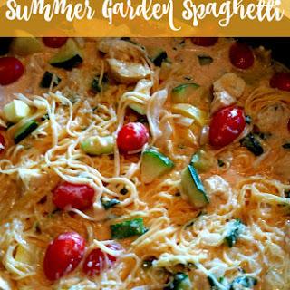 Summer Garden Spaghetti