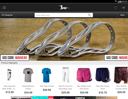 Lax.com screenshot 4