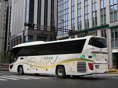 JRバス関東「ドリームルリエ号」 H677-11401 回送(リアビュー)