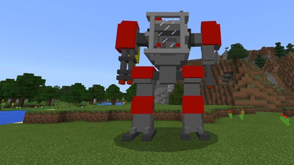 Download Robot Mod for Robocraft Addon for Minecraft PE APK latest