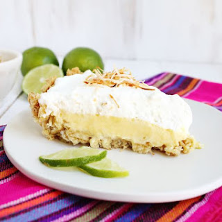 (Easiest Ever) Coconut Lime Pie.