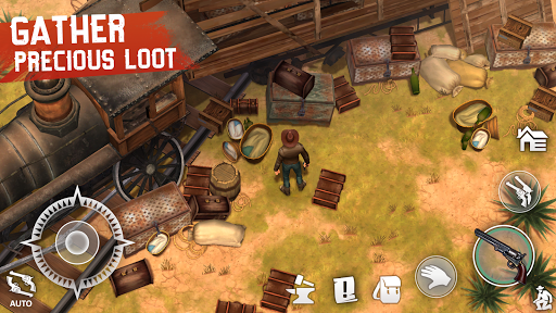 Westland Survival - Be a survivor in the Wild West apkpoly screenshots 2