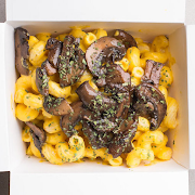 Truffle Mushroom Mac Set Meal