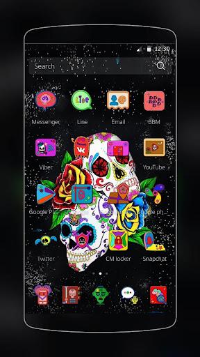 Sugar Skull Theme Screenshot