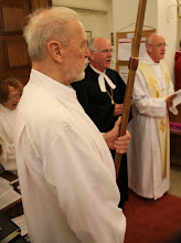 Photo: Bishop Friedrich Weber of Wolfenbuettel preached and Bishop Nick Baines of Bradford celebrated