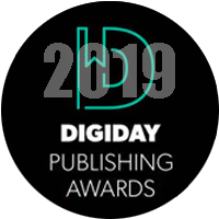 Best User Experience 2019 Digiday Publishing Awards