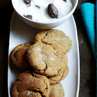 Ginger Molasses Cookies Cardamom Recipes.